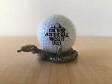 FORT USA GOLF GIFT PEWTER - Rattlesnake W/ Ball