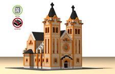 Lego Catholic Church of Nyiregyhaza building instruction - MOC