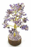Amethyst Stone Tree Reiki Gemstones Feng Shui Spiritual Vastu Table Decor