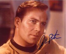 STAR TREK William Shatner James Kirk Autograph Signed AFTAL & UACC 'Choice of 10