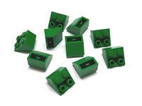 366021 LEGO obliquo pietra Dachstein invertriert 2 x 2 45 ° ROSSO 10 pezzi