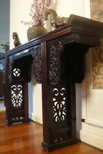 Antique 19C Oriental Chinese Asian Elm Altar Table *Display *Hall *TV *Console