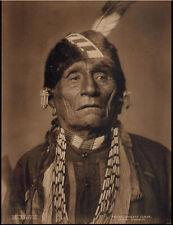 "Original1909  photograph by George Bancroft Cornish, depicting ""WAH-SHUN-GAH""."
