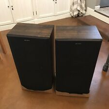 SONY Vintage SS-U380 3-way 8 ohm 160W speakers made in US