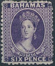 [37434] Bahamas 1863 Good classical stamp VF Mint no gum