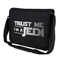 Trust me I'm a Jedi Star Wars Satire Fun Motiv Spaß Umhängetasche Messenger Bag