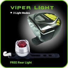 Bike Light LED Set 3000 LM - 6500 mAh Rechargeable FREE Taillight - Extreme Brig