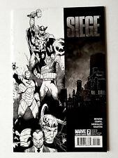 Siege #1 (2010 Marvel) 1:75 Coipel Sketch Variant