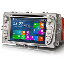 """7""""Autoradio for Ford Focus Mondeo C/S-max Galaxy GPS Navigation CD DTV-IN 3G DVR"""