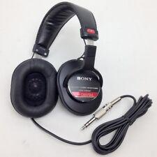 SONY MDR-CD900ST MONITOR STEREO HEADPHONE Ear-Pad Headband Wired Black