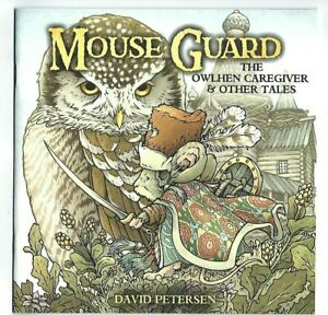 Boom Studios Archaia MOUSE GUARD THE OWLHEN CAREGIVER & OTHER TALES first print