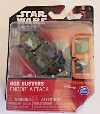 Star Wars Box Busters Endor Attack Playset Sealed New by Spin Master