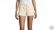 "Rewind 3"" Lace Soft Shorts Juniors Size S, M, L New Msrp $40.00 Ecru"