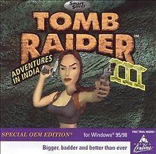 Tomb Raider III: Adventures in India Smart Saver Series (PC, 2000)