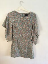 K148 Ladies Green Print Dress, Size 10, New With Tags, From Boohoo