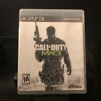 Sony PlayStation 3 PS3 | Call of Duty Modern Warfare 3 | Complete In Box CIB