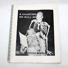 PETER WARLOCK A Haunting We Will Go Edison's Box 1968 magic 1st Ed