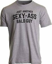 Just Another Sexy Bald Guy | Funny Dad Husband Grandpa Joke 3X-Large Sport Grey