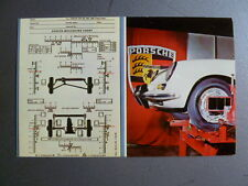 1960 Porsche 356-B Service Reminder Factory Issued Postcard RARE!! Awesome L@@K