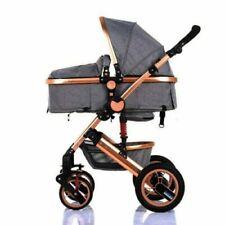 Kombi Kinderwagen = Buggy Komplettset Babywanne Faltbar Alu 2in1 Neu 350