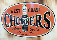 Moto autocollant old school Biker sticker west coast James Chopper Bobber usa