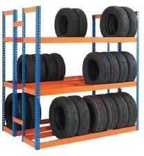TR618D - Double Sided Tyre Racking- 6'6'' x 6' x 1'6'' -3 Levels - £250.00 + VAT