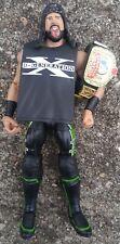 WWE Mattel Elite Series 33 X-PAC Wrestling Action Figure DX Gear European Belt