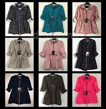 LADIES PARKA IN A POCKET Pac A Mac Rain Coat Mac Jacket Primark Womens UK 6-20