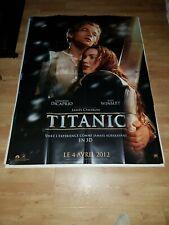 Affiche de cinéma d'époque du film: TITANIC de 2012 (120x160cm)