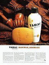 Publicité Advertising 067  1965   le  savon after-shave Tabac Original