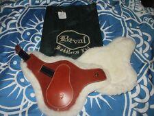 BEVAL LTD ITALY SHEEPSKIN LINED TOBACCO HIND JUMP BOOTS sz 4 XL NEW W/ TAG