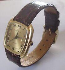 Baume & Mercier Geneve Baumatic 18K orologio manuale oro quadrato