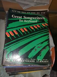 EASY KEYBOARD LIBRARY GREAT SONGWRITERS