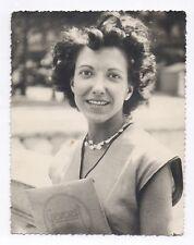 PHOTO Matériel Papier GEVAERT Technique Fourniture Tirage Femme Portrait 1960