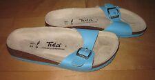 New Tulai / BIRKENSTOCK Blue Leather Sandals 36.5 Ladies 5.5 / 6