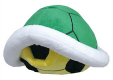 NEW Green Koopa Shell Pillow (1398) Nintendo USA Super Mario Little Buddy Plush