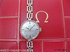 Ladies Vintage 9ct Omega Gold Bracelet  711.5502 Calibre 620 #875
