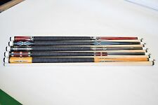 LOT OF 5 CUES New 58'' Billiards Canadian Maple Pool Cue Stick FREE SHIPPING #03