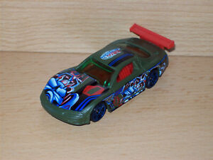 Olds Aurora GTS-1 olive Hot Wheels Modell Auto Sammlung Muscle Car Rod Custom HW
