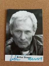 Arthur Brauss original signierte Autogrammkarte Rüdel Verlag