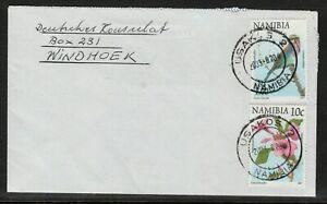 Namibia Cover - Usakos 2 - 20.08.2003 to Deutsches Konsulat