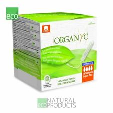 Organyc Compact Tampons with Applicator Organic Cotton Super Plus 16 per pack