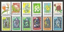 ZIMBABWE 1994 FLOWERS & CHRISTMAS SETS (UHM)