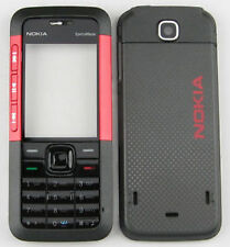 Full Body With Keypad Housing Panel Fascia for Nokia 5310 - Red Black