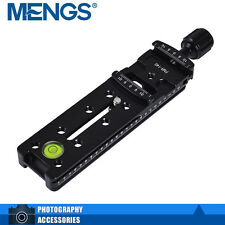 MENGS FNR-140 Multi-Function Quick Release Plate Clamp + Knob Suit SLR Camera