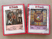 Lot (2) 8 Track Music Cassette Tapes Thin Lizzy - Fighting & Johnny the Fox
