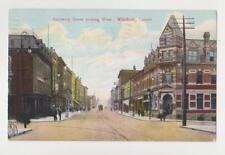 Windsor,Ontario,Canada,Sandwich Street Looking West,Used,Windsor,1907