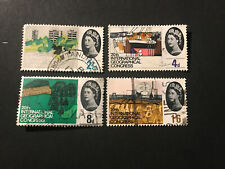 STAMPS - GB GEOGRAPHOCAL CONGRESS (4) PHOS USED