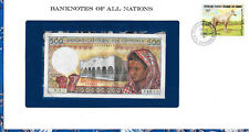 Banknotes of All Nations Comoros Islands 500 Francs 1986 UNC P10a.1 Prefix V.1