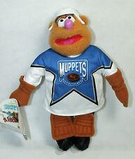 Vintage Fozzie Bear The Muppets Jim Henson NHL Hockey McDonald's Canada Plus Toy